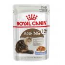 Royal Canin Ageing +12 en gelée sachets pour chat 12 x 85 g- La Compagni