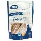 Trixie Friandises BE NORDIC Salmon Cubes pour chat 50 g