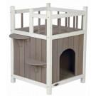 Trixie Natura Cat's Home avec balcon pour chat - La Compagnie des Animaux