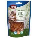 Trixie PREMIO Catnip bouchées au poulet pour chat 50 g- La Compagnie des Animaux