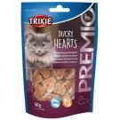 Trixie Premio Hearts avec Malgret de Canard et Colin pour Chat 50 grs