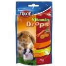 Trixie Pastilles vitaminées carottes 75 grs