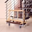 Trixie barrière pour chiens en bouleau 63 - 108 x 50 x 31 cm
