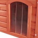 Trixie porte plastique 34 x 52 cm pour niche Natura à toit plat 116 x 82 x 79 cm