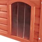 Trixie porte plastique 32 x 45 cm pour niche Natura à toit plat 104 x 72 x 68 cm