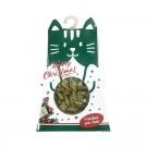 Wouandise Biscuits de noel pour chat saumon et herbe à chat 90 g