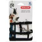 Zolux Kit Harnais petit mammifère casual noir XL