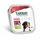 Yarrah Bio Bouchées de boeuf au persil et au thym pour chien 14 x 150 grs- La Compagnie des Animaux