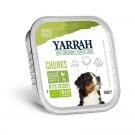 Yarrah Bio Bouchées de poulet et légumes à la chicorée pour chien 14 x 150 grs- La Compagnie des Animaux