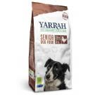 Yarrah Bio Croquettes Senior au poulet et poisson avec herbes pour chien 2 kg- La Compagnie des Animaux