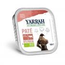 Yarrah Bio Pâté de boeuf à la spiruline pour chien 14 x 150 grs- La Compagnie des Animaux