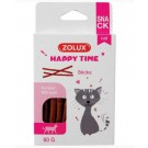 Zolux Happy Time Sticks au Boeuf pour chat 60 g- La Compagnie des Animaux