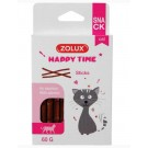 Zolux Happy Time Sticks au Saumon pour chat 60 g- La Compagnie des Animaux