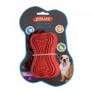 Zolux Jouet caoutchouc avec corde Titan M rouge