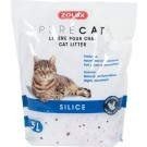 Zolux PURECAT Litière silice parfumée pour chat 5 L - La Compagnie des Animaux