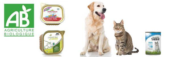 Alimentation bio pour votre animal