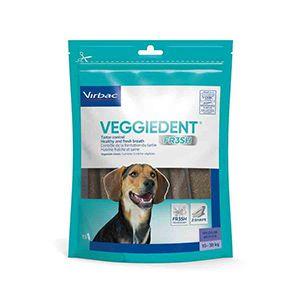 Veggiedent FR3SH M Lamelles Dentaires Chien de 10 à 30 kg