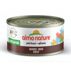 Almo Nature Chat Natural HFC Boeuf 24 x 70 grs - La Compagnie des ANimaux