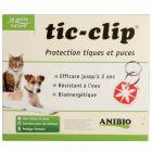 Anibio Médaille Tic-clip chien et chat - La Compagnie des Animaux