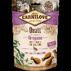 Carnilove Friandises Semi-Humides Caille & Origan chien - La Compagnie des Animaux