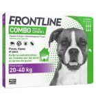 Frontline Combo Chien 20-40 kg 6 pipettes- La Compagnie des Animaux