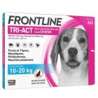 Frontline Tri Act spot on chiens 10 - 20 kg 3 pipettes- La Compagnie des Animaux