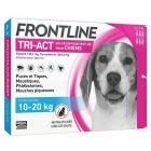 Frontline Tri Act spot on chiens 10 - 20 kg 6 pipettes- La Compagnie des Animaux