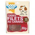 Good Boy Filets au Canard 80 grs - La Compagnie des Animaux