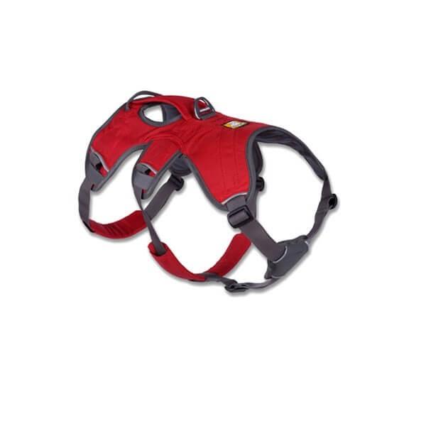 Harnais Ruffwear Web Master Rouge XXS