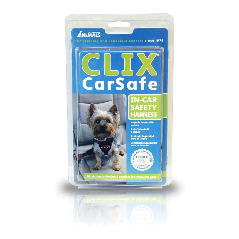 harnais de voiture pour chien clix carsafe xs harnais de s curit transport mat riel. Black Bedroom Furniture Sets. Home Design Ideas