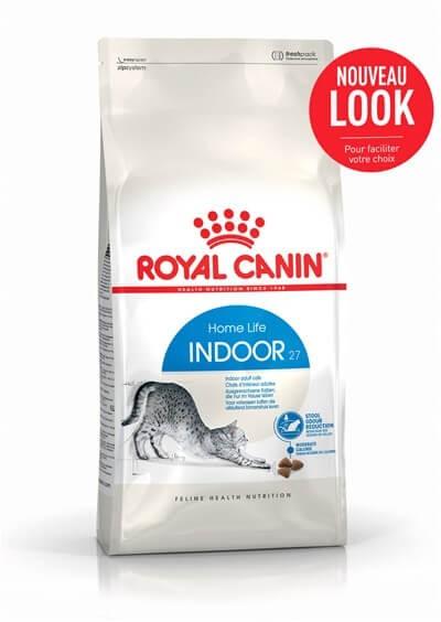 royal canin f line health nutrition indoor 27 10 kg alimentation physiologique chats la. Black Bedroom Furniture Sets. Home Design Ideas