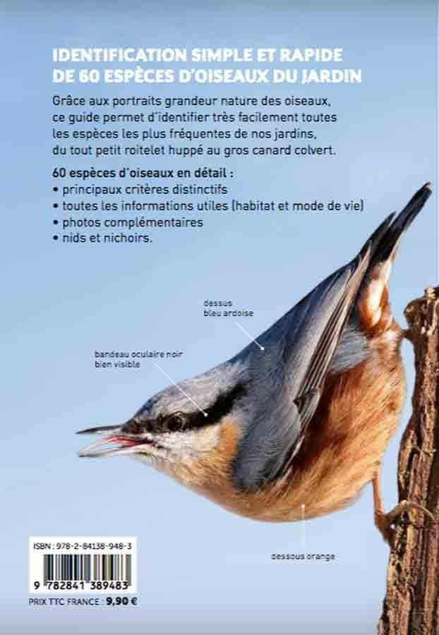 Reconna tre facilement les oiseaux du jardin livre oiseaux - Effroyables jardins resume du livre ...