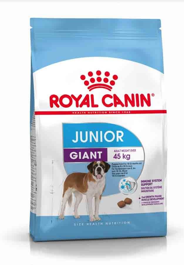 royal canin giant junior 15 kg la compagnie des animaux. Black Bedroom Furniture Sets. Home Design Ideas