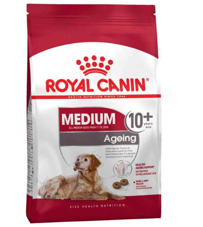royal canin medium senior de 10 ans 15 kg la compagnie des animaux. Black Bedroom Furniture Sets. Home Design Ideas