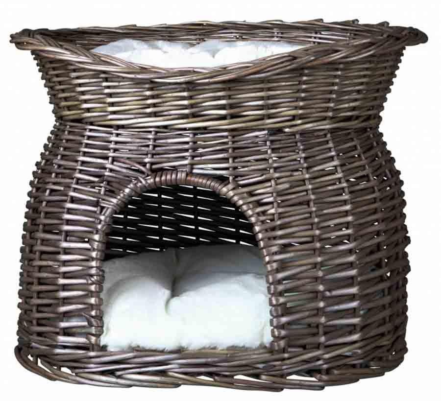 panier et lit en osier trixie panier pour chat. Black Bedroom Furniture Sets. Home Design Ideas