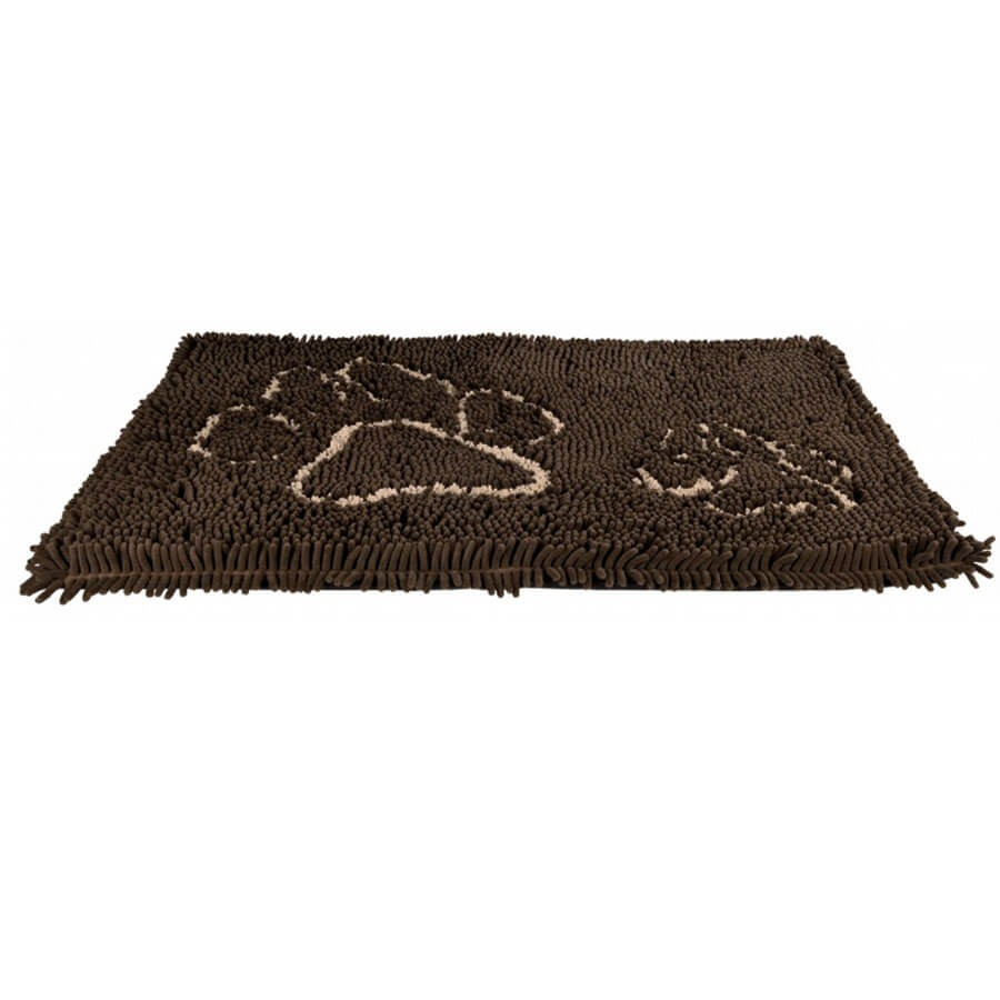 rixie tapis absorbant anti salet s rembourr brun pour chien 80 55 cm la compagnie des animaux. Black Bedroom Furniture Sets. Home Design Ideas
