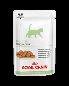 Royal Canin Vet Care Nutrition Cat Pediatric Growth Sachet Chaton 12 x 100 grs