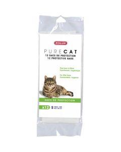 Zolux Pure Cat Sacs de Protection pour Bac M- La Compagnie des Animaux