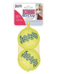 KONG Air Squeaker Tennis Ball Large (par 2)