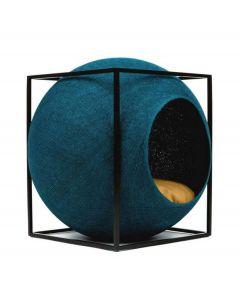 Meyou Le Cube plume de paon pour chat