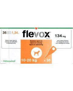 Flevox Chien 10-20kg 36 pipettes