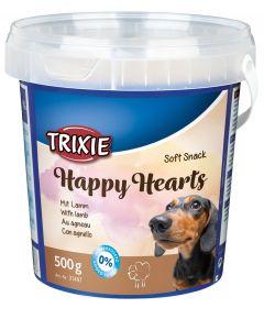 Trixie Soft Snack Happy Hearts à l'agneau chien 500 g