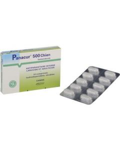 Panacur 500 Chien 10 cps