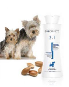 Biogance Shampooing 2 en 1 pour Chien et Chiot 250 ml