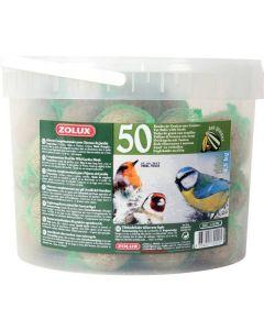 Zolux boules de graisses 50 x 90 grs