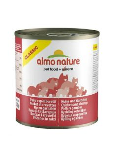 Almo Nature Chat Classic Poulet et Crevettes 12 x 280 g