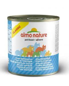 Almo Nature Chat Classic Thon de l'Atlantique 12 x 280 grs
