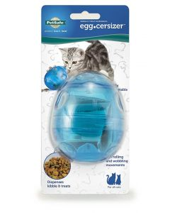 Pet Safe Funkitty Egg-Cersizer jouet distributeur pour Chat