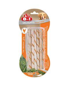 8in1 Twisted Sticks XS pour chien x10- La Compagnie des Animaux