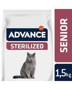 Advance Sterilized 10+ au poulet Chat 1,5 kg - La Compagnie des Animaux